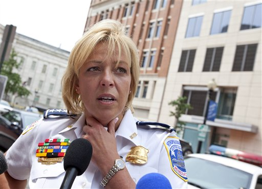 Police Chief Cathy Lanier: