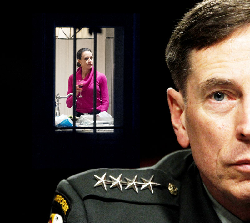 Paula Broadwell and Gen. David Petraeus.