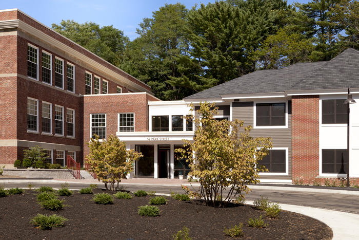 The Park Street School Apartments will be open for tours on Friday.