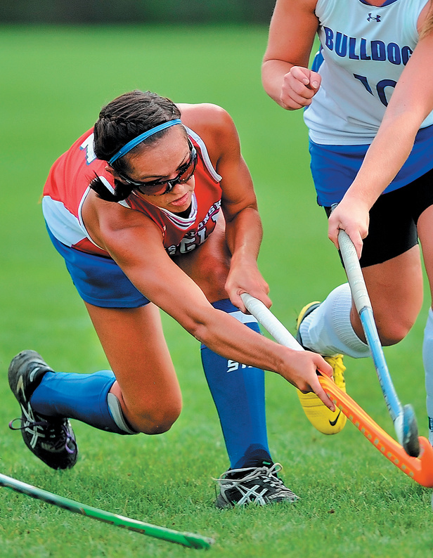 Kristy Bernatchez, the Maine Sunday Telegram's field hockey player of the year, has her heart set on a spot with the senior national team and playing in the Olympics.