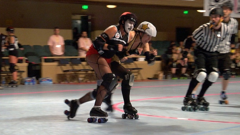 """The """"Derby Baby"""" documentary, which examines the rebirth of roller derby for women, will be showing at 7:30 p.m. Saturday at Space Gallery."""
