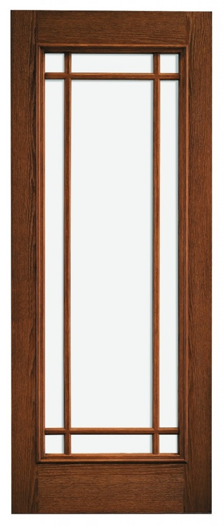 A Pella Prairie-style door.