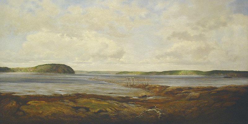 """The Kennebec River"" by Jon Allan Marshall."