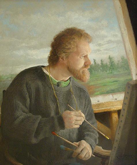 """Self Portrait"" by Jon Allan Marshall."