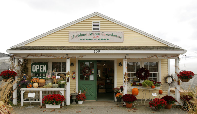 """A winter farmers market will be held at Highland Avenue Greenhouse and Farm Market in Scarborough on Sundays. """"We have to stick together in this economy and this makes people aware of local agriculture and buying local,"""" owner Joe Viscano said."""