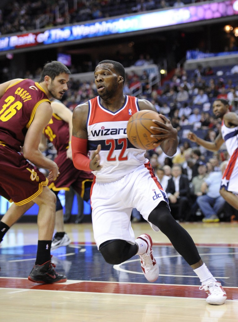 Shelvin Mack, shown here as a rookie last year with Washington, hopes to have the Celtics clamoring for his services in Boston.