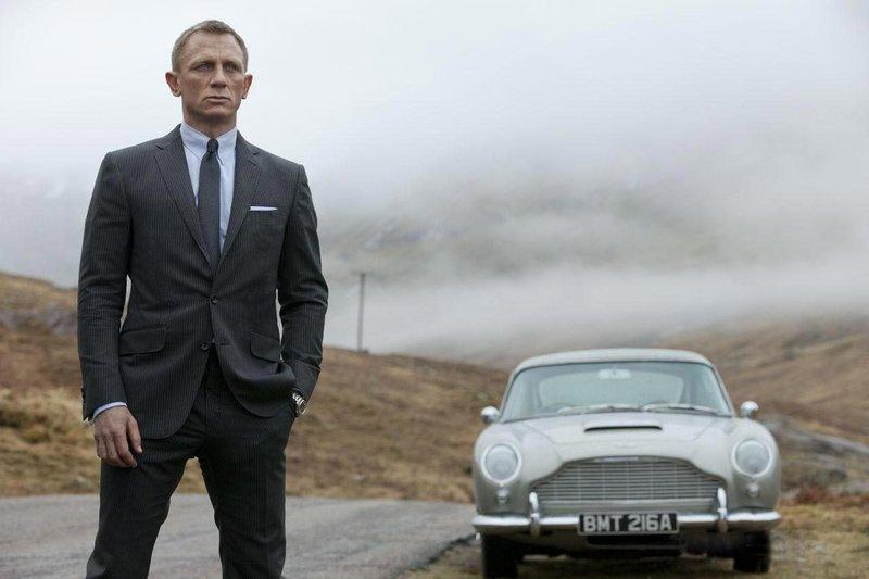 """Daniel Craig takes his third turn as Bond in """"Skyfall."""""""