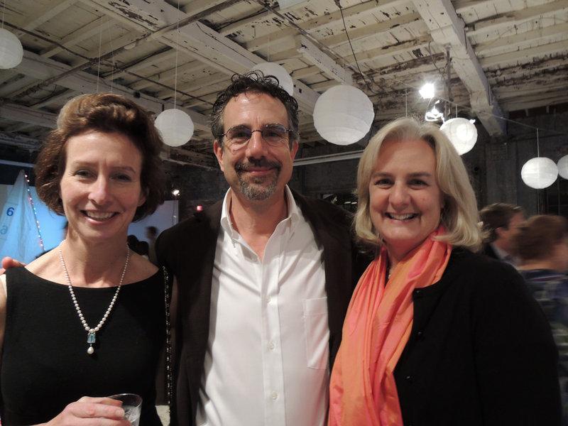 Lifelong sailors Sarah and Russ Cox of Portland, and Cordelia Pintman, whose husband, Winslow Ferber, is director of development for SailMaine.