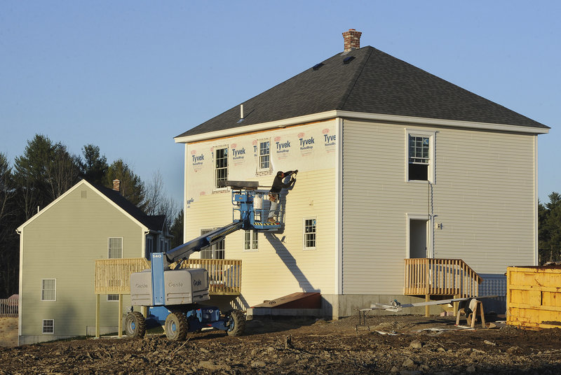New home construction surges in southern maine the for Building a house in maine