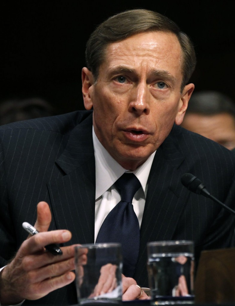 CIA Director David Petraeus told President Obama on Thursday that he intended to resign.