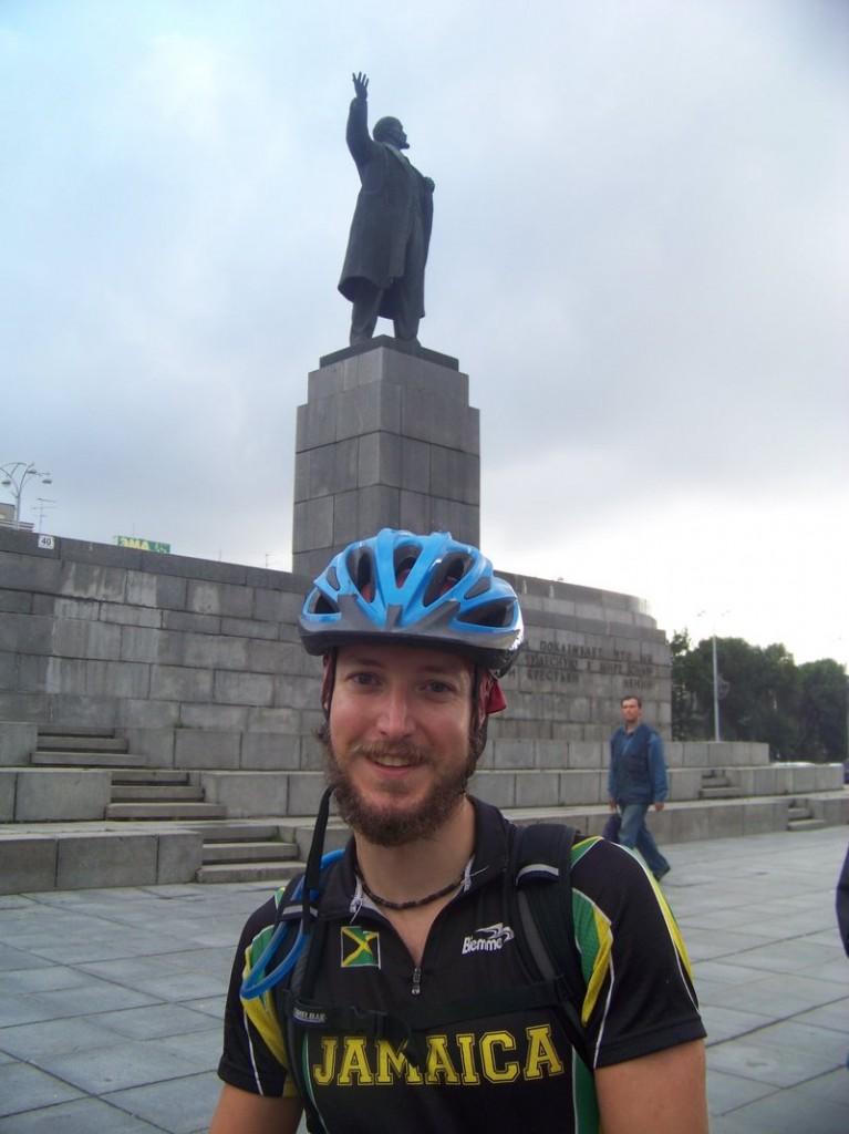 Levi Bridges, 29, poses during a trip to Europe.