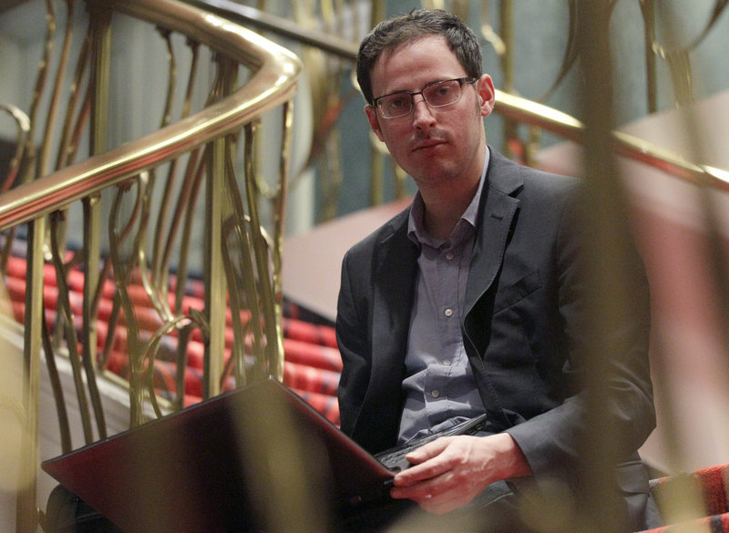 Nate Silver, seen at the Allegro hotel in Chicago on Friday, raised the bar Tuesday for accuracy in election forecasting. The 34-year-old statistician and creator of the much-read FiveThirtyEight blog, correctly predicted the presidential winner in all 50 states.