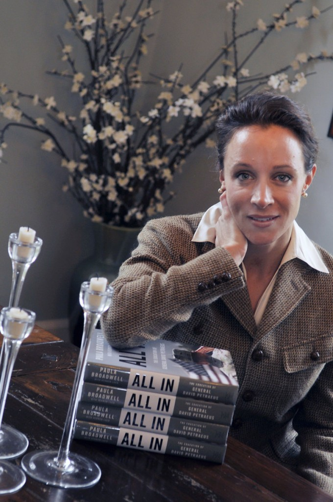 Paula Broadwell, David Petraeus' biographer and mistress, says she first met him in the spring of 2006.
