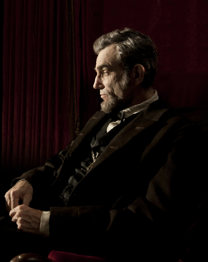 "Daniel Day-Lewis portrays Abraham Lincoln in the film ""Lincoln,"" which goes into wide release this weekend."