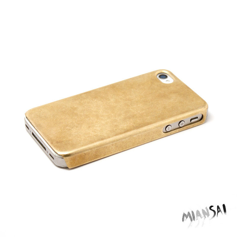 Finally, you can call the special people in your life in style from Hannaford to find out if they want salsa or bean dip, with the Miansai by Michael Salger 14K gold iPhone cover.