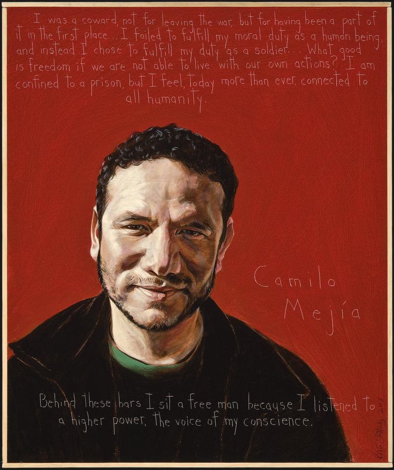 """Camilo Mejia"" by Robert Shetterly."