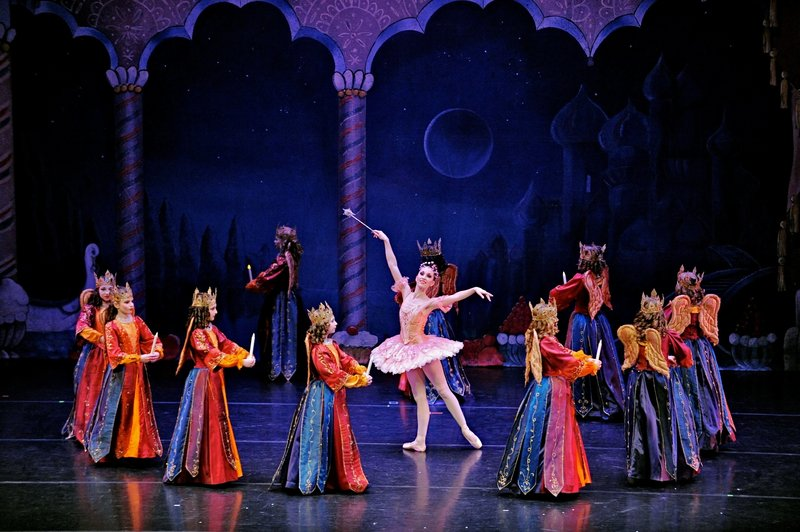 Janet Davis is Maine State Ballet's Sugar Plum Fairy.