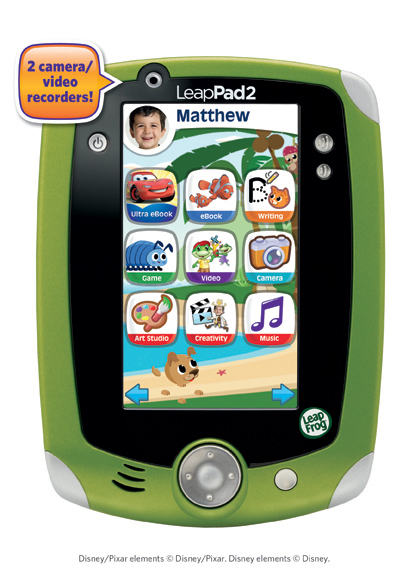 LeapFrog Enterprises' LeapPad 2 Explorer tablet is one of this year's hottest selling toys. It retails for $99.99.