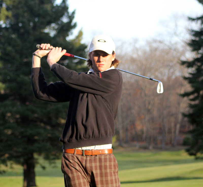 Reese McFarlane of Cape Elizabeth worked a lot on his short game this season, and it carried him a long way. McFarlane won the Class B individual championship and was named the Press Herald/Sunday Telegram Player of the Year.