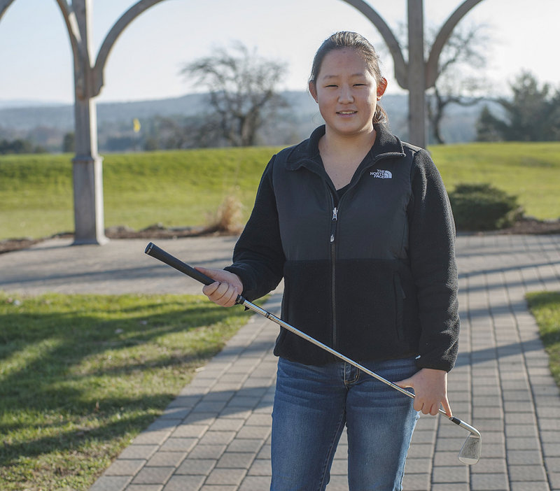 Alice Hwang and her family now live in Orlando, Fla., and one benefit is she can play more golf, with an eye to participating against strong junior competition.