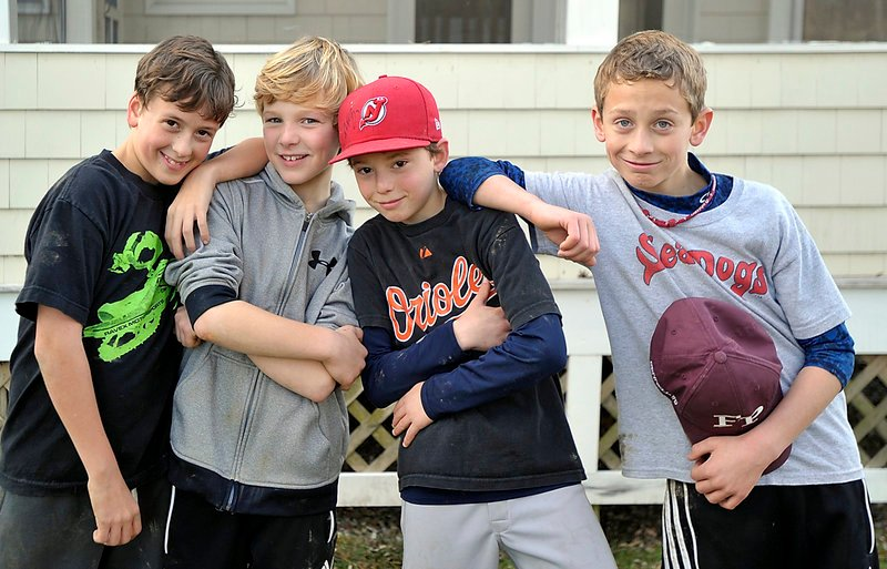 "These Freeport bad boys – from left, Joe Ashby, 12, Will Mullen, 10, Will Winter, 10, and Jesse Bennell, 10 – are totally on board the ""Gangnam Style"" dance craze. ""Some of my friends were doing (the dance) at soccer practice, and it just looked like fun,"" said Will Mullen. His friend Jesse Bennell agreed: ""I really like the dancing. ... It's all really funny."""