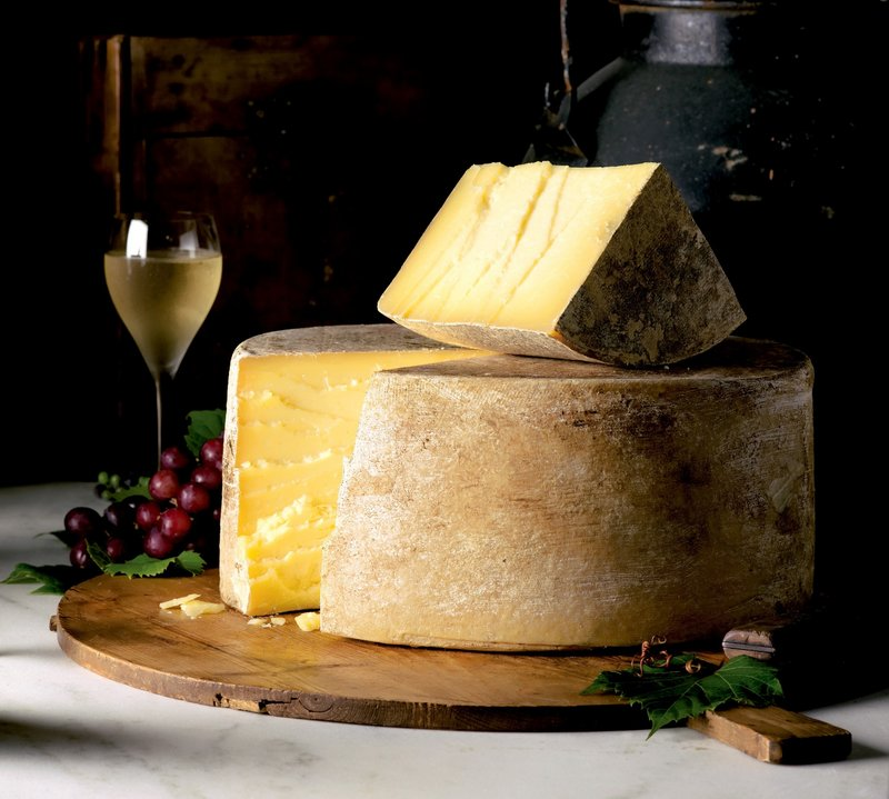 For cheese lovers, consider a gift of Cabot's award-winning Clothbound Cheddar. It is sharp, rich and buttery, with notes of caramel.