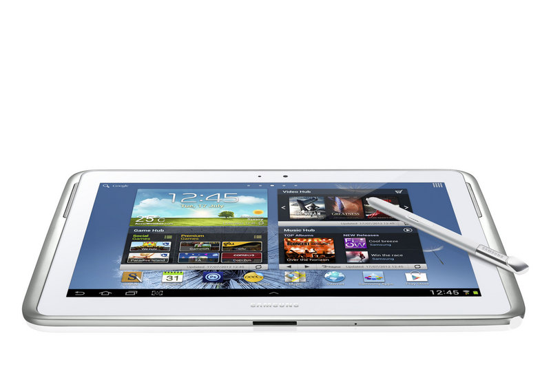 """The Samsung Galaxy Note 10.1 comes with a """"pen."""""""