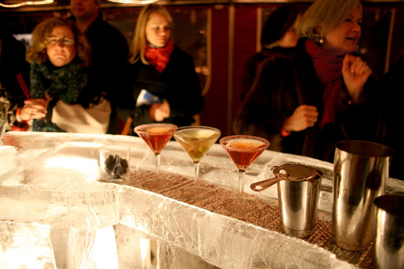 Images from previous Preludes include the Fire and Ice Bar ...