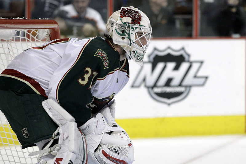Josh Harding, Minnesota goaltender, has no plans to alter his NHL career despite being diagnosed with multiple sclerosis, which affects the immune and central nervous system.