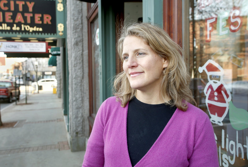 Delilah Poupore, executive director of Heart of Biddeford, said the purchase of the MERC property has already increased interest in new businesses, restaurants, and arts and cultural events.