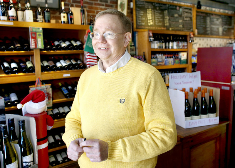 Mark Johnston, the mayor of Saco and owner of Vic and Whit's Sandwich Shop, said,