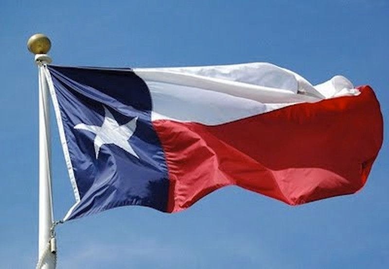 The Texas state flag. Since Obama's re-election, close to 1 million people have signed a petition supporting secession, with Texas and Georgia leading the charge.