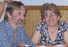 Neil Begin, of Cyr Plantation, who was shot and killed by police, and Sandy Parent, his fiancee.