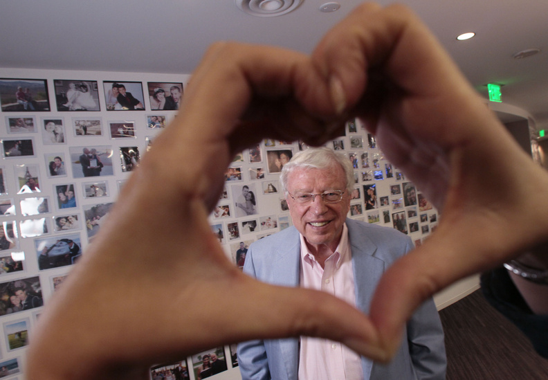 """Neil Clark Warren, founder and president of eHarmony, admits that the company had """"gotten a bit lost"""" as it struggled to compete. Now he wants eHarmony's brand to include more than just online matchmaking."""
