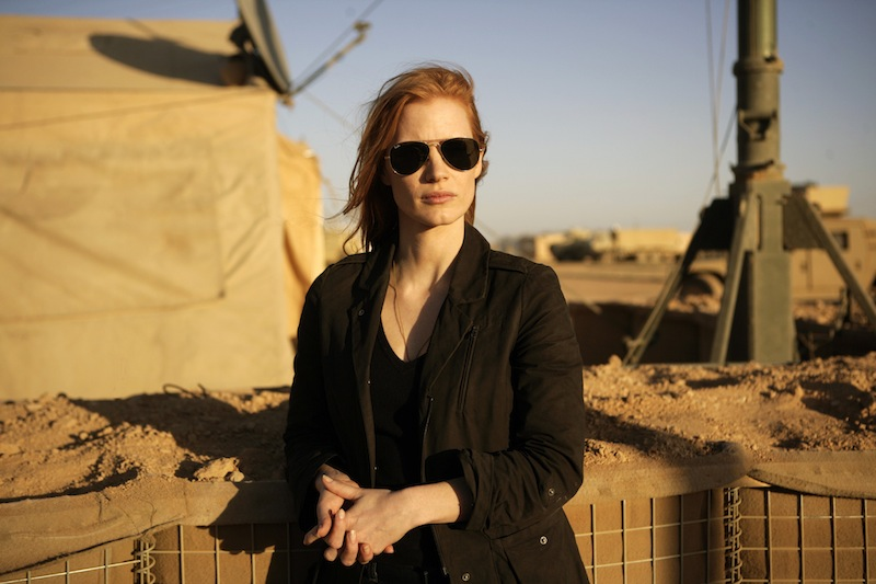 Jessica Chastain plays a CIA analyst tracking Osama Bin Laden in 'Zero Dark Thirty.'