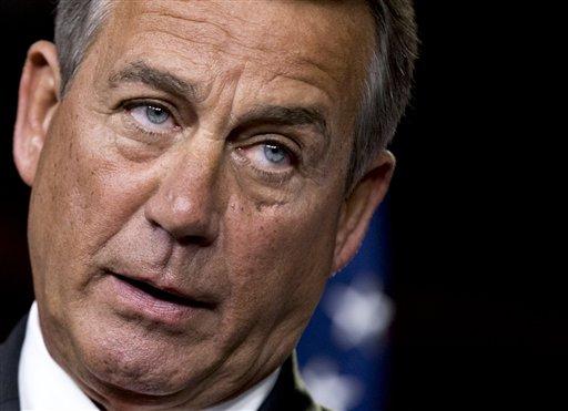House Speaker John Boehner said the GOP proposal is a