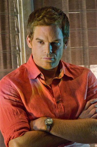 Michael C. Hall portrays Dexter Morgan in a scene from