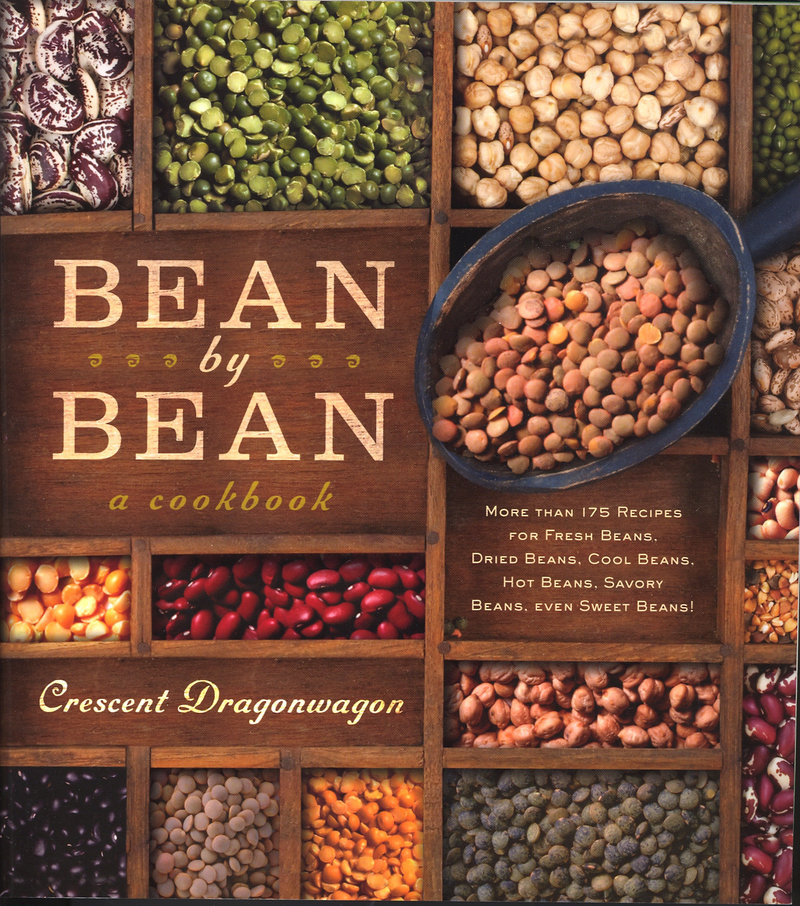 """""""Bean by Bean"""" by Crescent Dragonwagon includes more than 175 recipes from a variety of culinary traditions."""