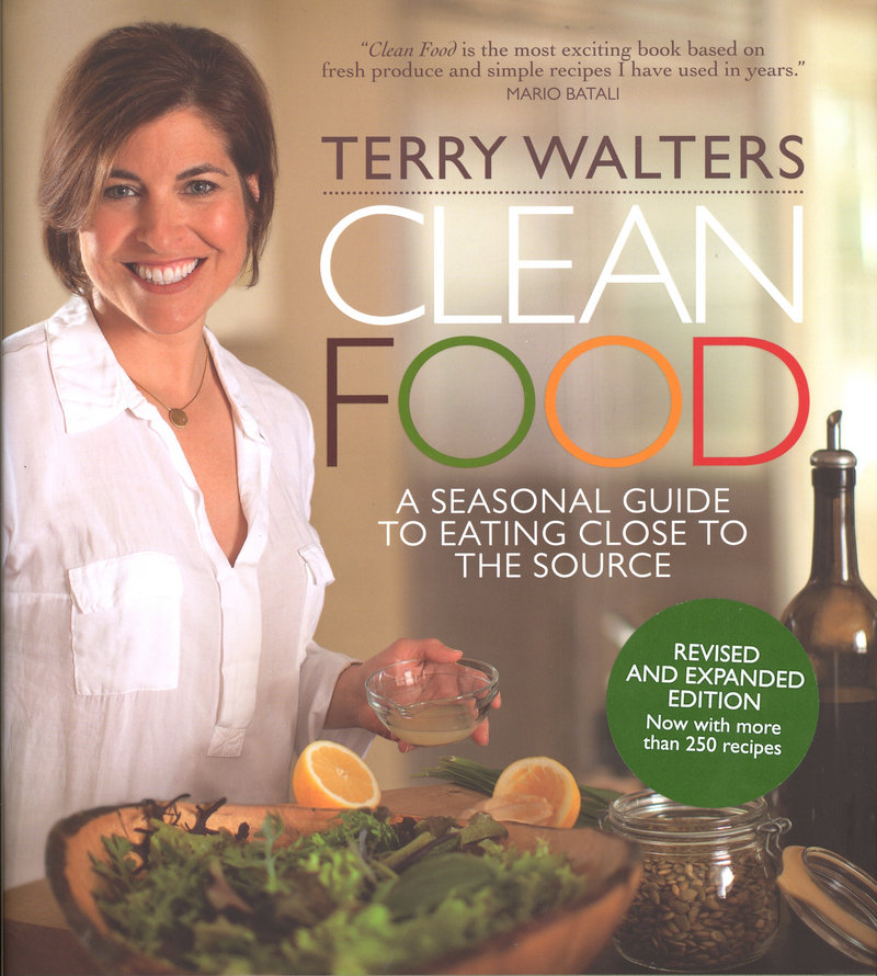 """The updated """"Clean Food"""" by Terry Walters offers new vegan recipes."""