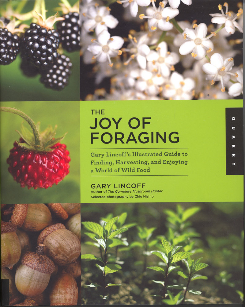 """""""The Joy of Foraging"""" by Gary Lincoff is a guide to wild edibles."""