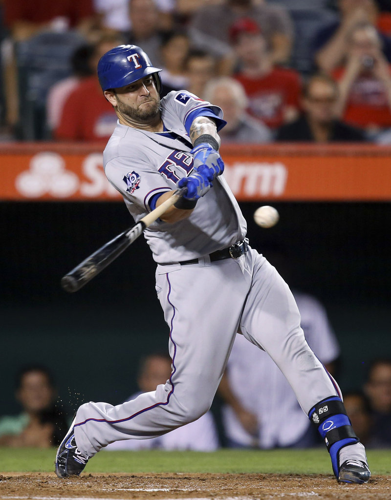 In Mike Napoli's 19 games at Fenway, he's shown good power with 7 HR and 17 RBI.