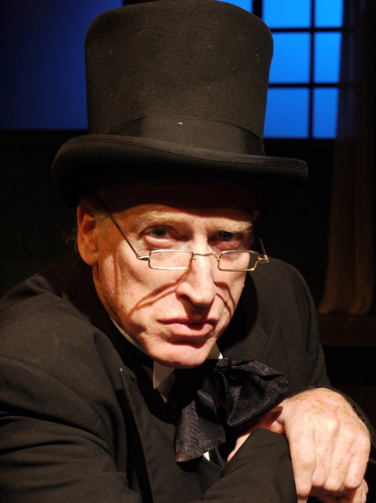 "Joel Leffert is Scrooge in The Public Theatre production of Charles Dickens' ""A Christmas Carol,"" which opens its three-night, four-performance run on Friday in Lewiston."