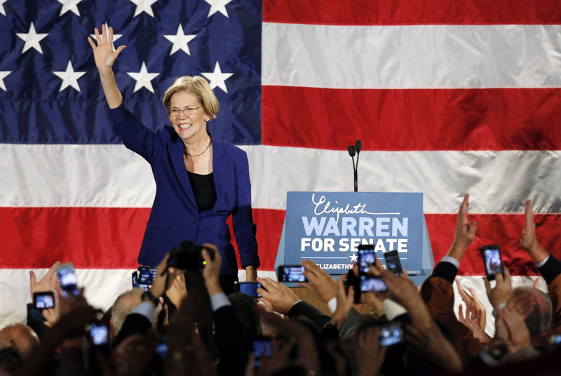 Sen.-elect Elizabeth Warren, D-Mass., an outspoken critic of Wall Street, may get a seat on the Senate Banking Committee.