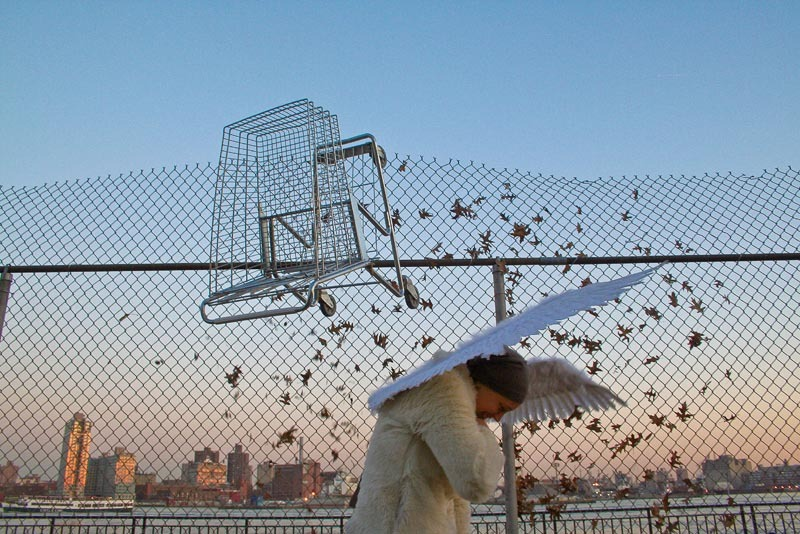 """Shopping Cart, Wings"" by Tod Seelie from the Bakery Photocollective's Photo A Go Go auction."