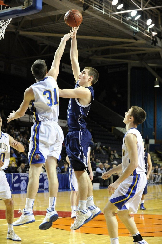 Aaron Todd, a 6-foot-7 center, is one of the primary reasons York is regarded as a favorite in Western Class B.