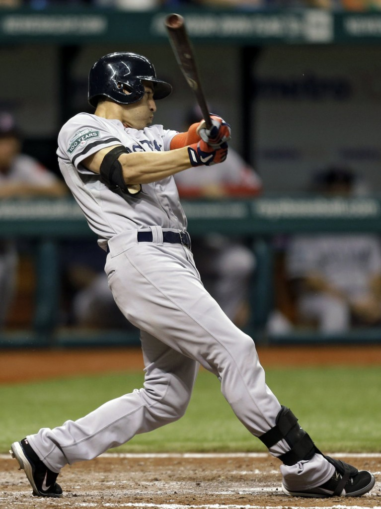 Jacoby Ellsbury is nearing free agency, and if the Sox can't contend, they could dangle him as trade bait.