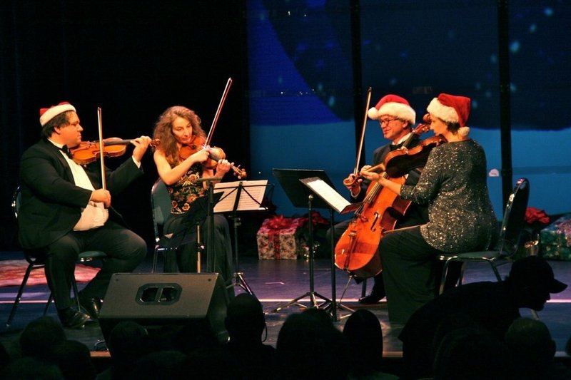 The DaPonte String Quartet plays Sunday in Newcastle.