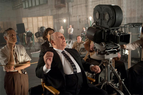 "Anthony Hopkins stars as legendary director Alfred Hitchcock in ""Hitchcock."" Helen Mirren plays Hitchcock's wife, Alma Reville."