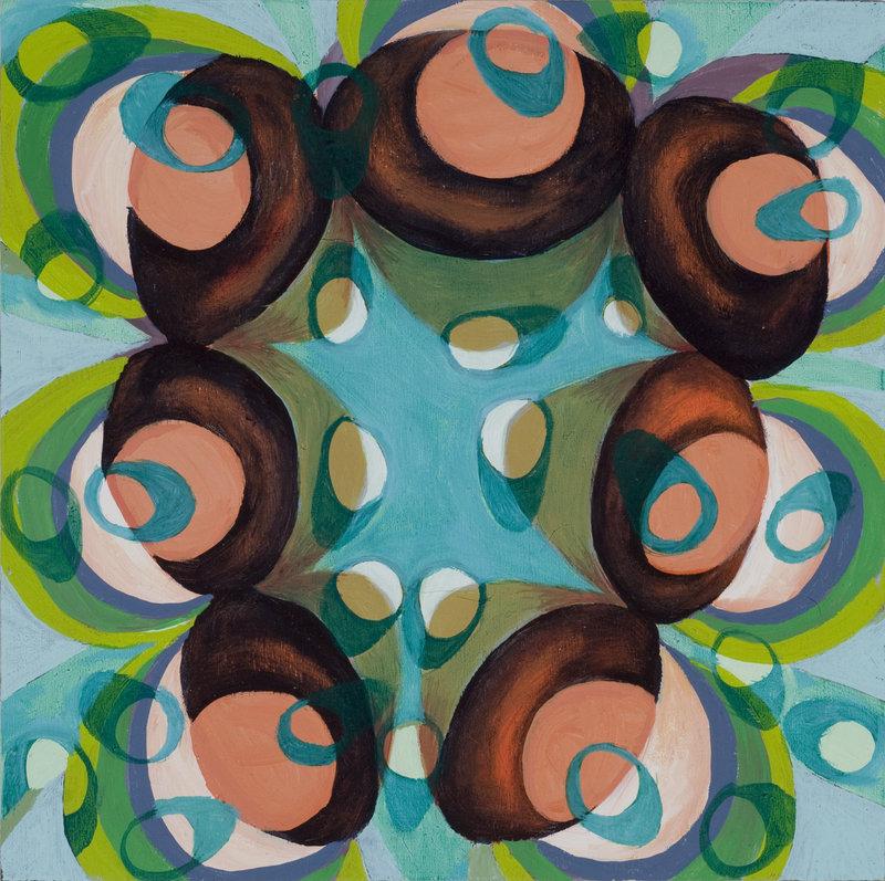 """""""Aquatic"""" by Jessica Gandolf at Rose Contemporary."""