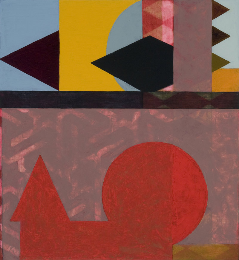 """""""Shift II"""" by Penelope Jones from """"Expanding Fields"""" at Rose Contemporary."""